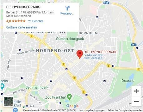 Der Weg zur Hypnosepraxis in Frankfurt